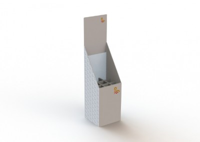 Dump Bin with Dividers